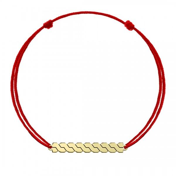 Bratara snur coloana romaneasca din aur