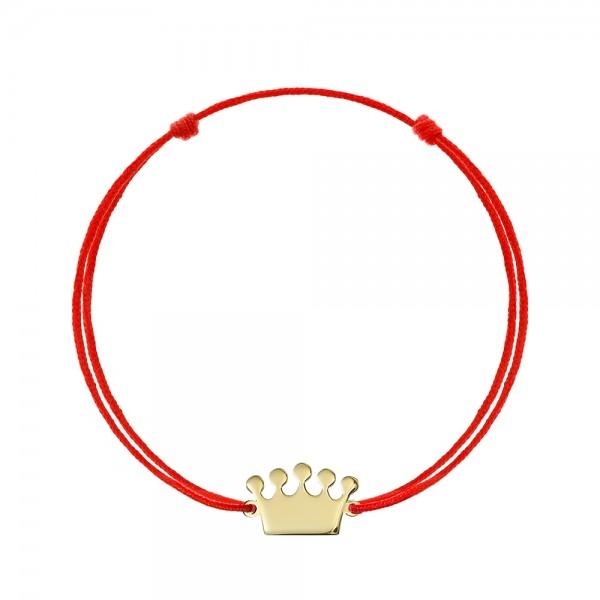 Bratara snur coronita aur