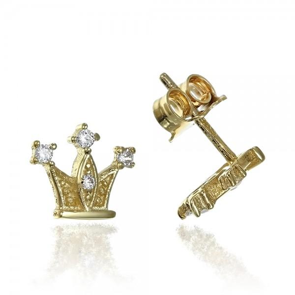 Cercei aur coronite