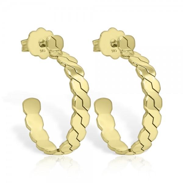 Cercei aur Coloana Romaneasca
