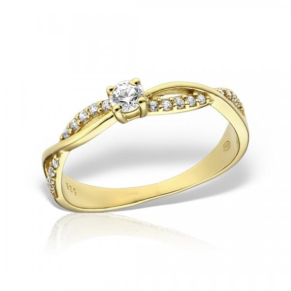 Inel de logodna impletit