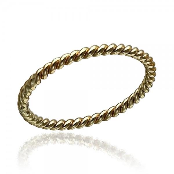 Inel aur spirala