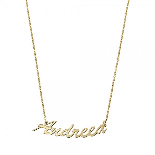 Colier aur nume ANDREEA