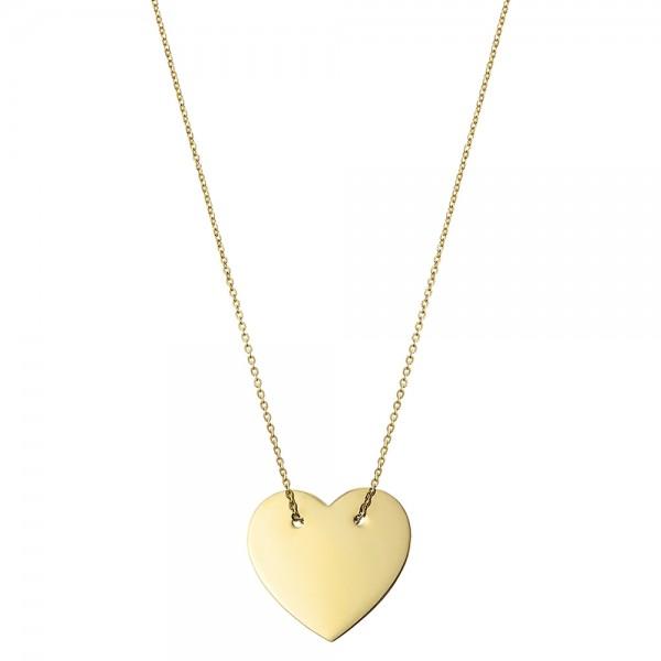 Colier aur o inima mare