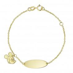 Bratara aur placuta si Mickey Mouse