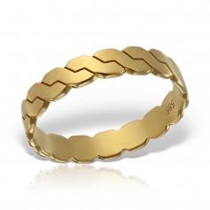 Inel aur coloana romaneasca