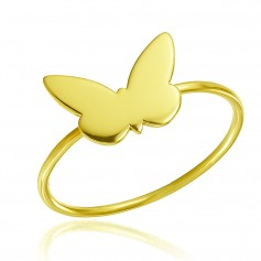 Inel aur fluturas