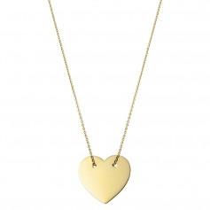 Colier aur  inima