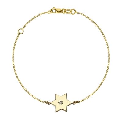 Bratara aur steluta cu diamant