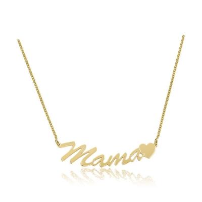 Colier aur personalizat MAMA