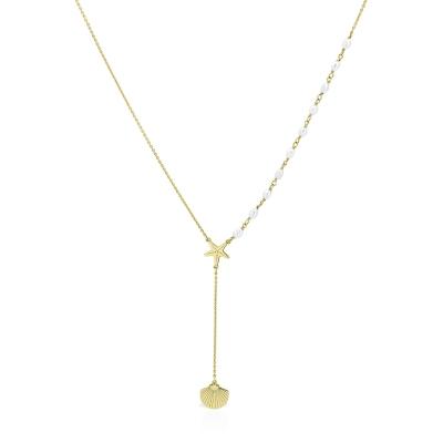 Colier aur marin cu perle de cultura