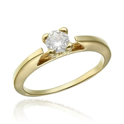 Inel de logodna aur