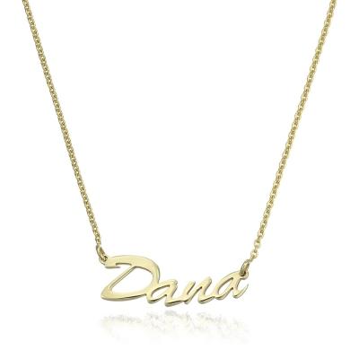 Colier aur nume DANA