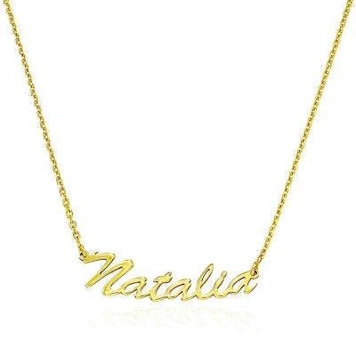 Colier aur nume NATALIA