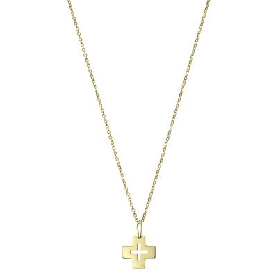 Colier aur cu pandantiv cruce