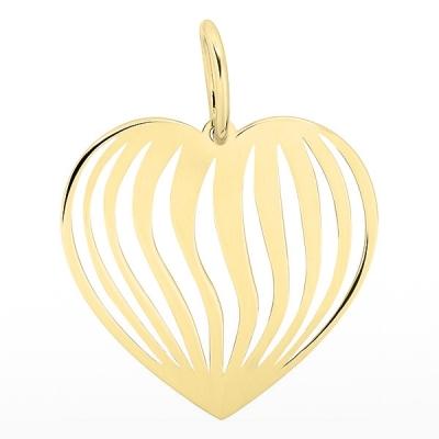 Pandantiv inima din aur